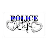 """Police wife 3"""" x 5"""""""