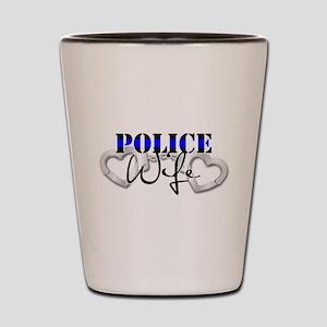 Police Wife Shot Glass
