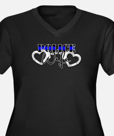 Police Wife Plus Size T-Shirt