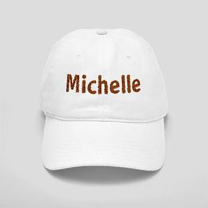 Michelle Fall Leaves Baseball Cap