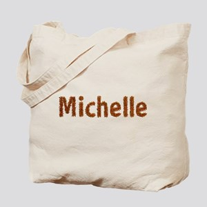 Michelle Fall Leaves Tote Bag