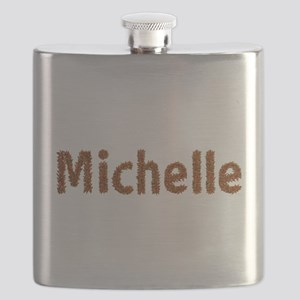Michelle Fall Leaves Flask