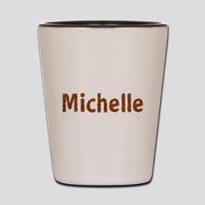 Michelle Fall Leaves Shot Glass