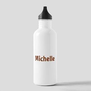 Michelle Fall Leaves Water Bottle