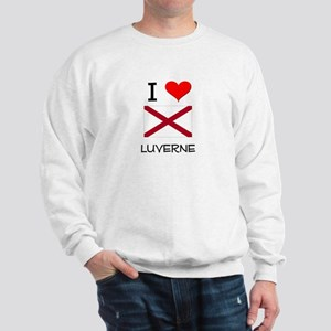 I Love Luverne Alabama Sweatshirt