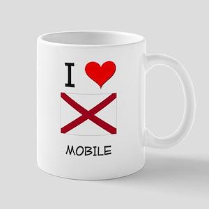 I Love Mobile Alabama Mugs