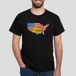 Government Shutdown Dark T-Shirt