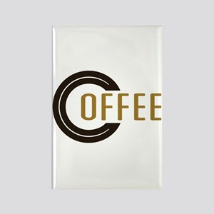 Coffee Saying Rectangle Magnet