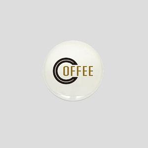 Coffee Saying Mini Button