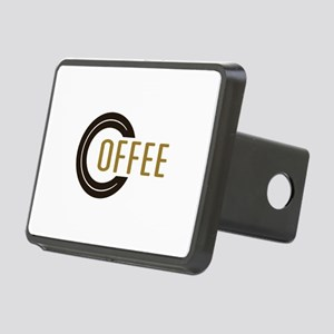 Coffee Saying Rectangular Hitch Cover