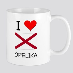 I Love Opelika Alabama Mugs