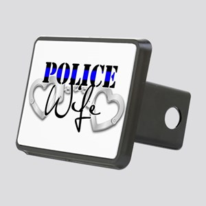Police Wife Rectangular Hitch Cover