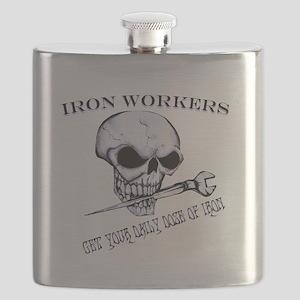 IRON SKULL Flask
