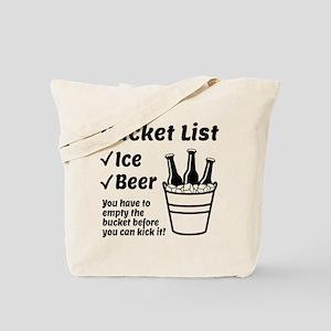 Bucket List Tote Bag