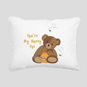 Youre My Honey Pot Rectangular Canvas Pillow