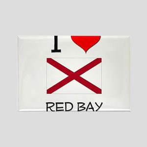I Love Red Bay Alabama Magnets