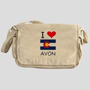 I Love Avon Colorado Messenger Bag