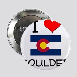"I Love Boulder Colorado 2.25"" Button"