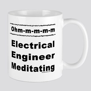 Meditating Engineer Ohm Mug