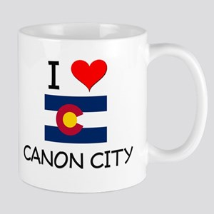 I Love Canon City Colorado Mugs