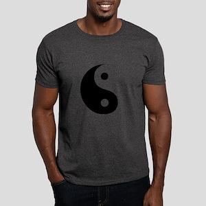 Yin Yang Symbol Ideology Dark T-Shirt