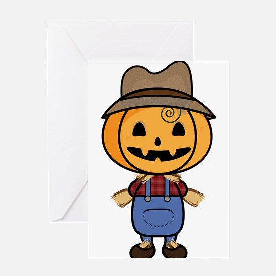 Mr. Scarecrow Greeting Cards