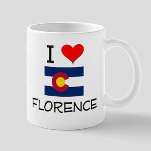 I Love Florence Colorado Mugs