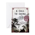 A Call to China Greeting Cards