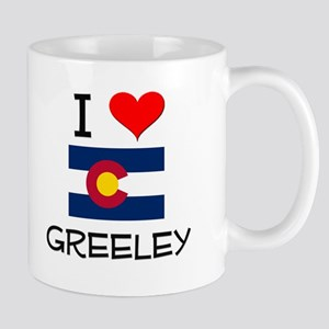 I Love Greeley Colorado Mugs