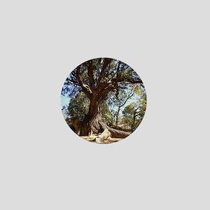 Twisted Tree Mini Button