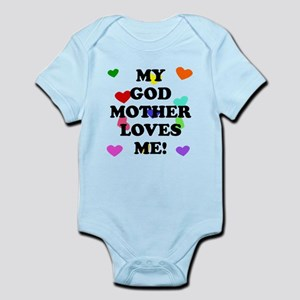 My God Mother Loves Me Body Suit