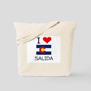 I Love Salida Colorado Tote Bag
