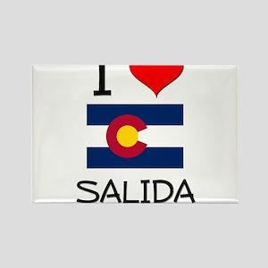 I Love Salida Colorado Magnets