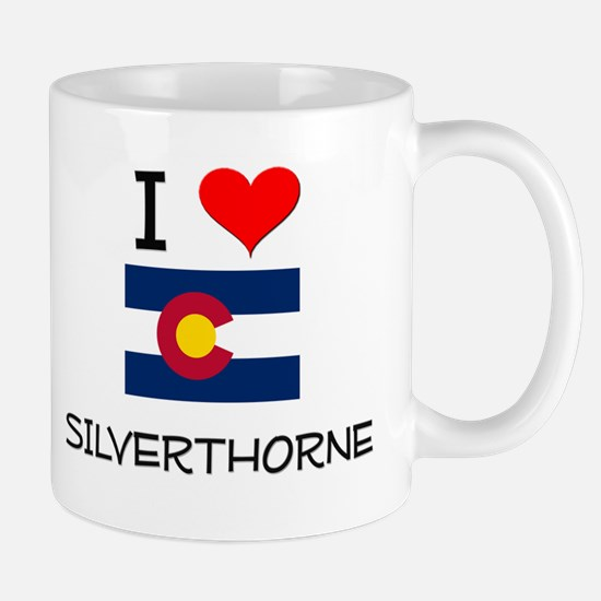 I Love Silverthorne Colorado Mugs
