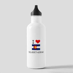 I Love Silverthorne Colorado Water Bottle