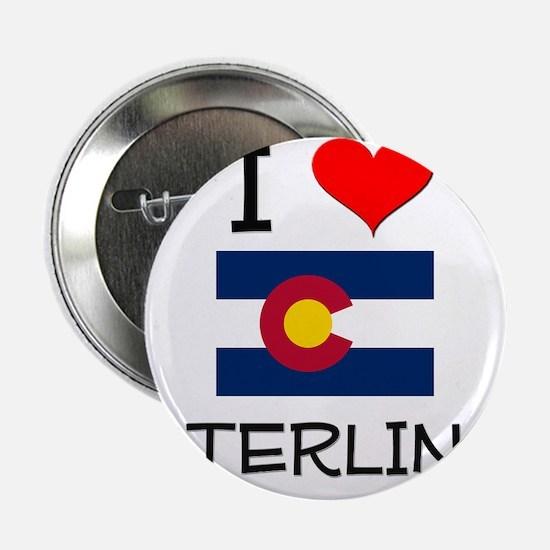 """I Love Sterling Colorado 2.25"""" Button"""