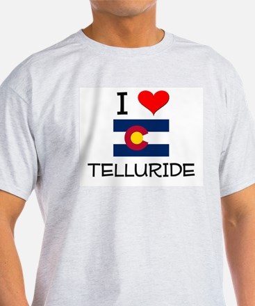 I Love Telluride Colorado T-Shirt