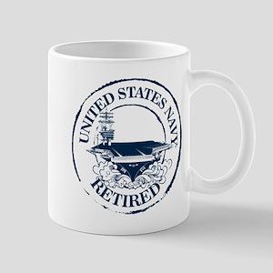U.S. Navy Retired (Carrier) 11 oz Ceramic Mug