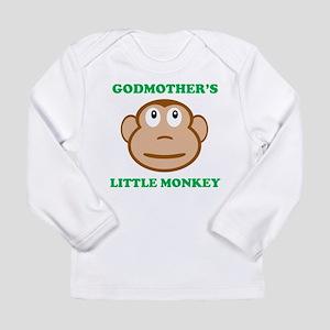 Godmothers Little Monkey Long Sleeve T-Shirt