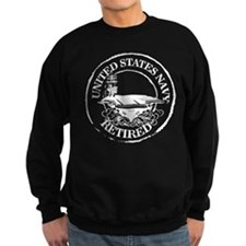 U.S. Navy Retired (Carrier) Sweatshirt (dark)