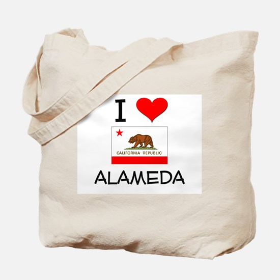I Love Alameda California Tote Bag