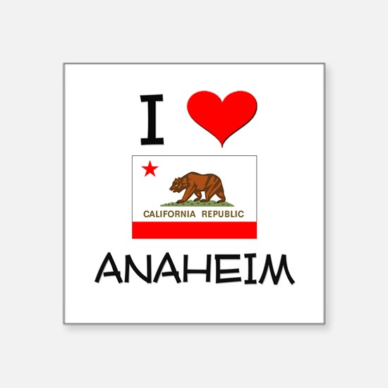 I Love Anaheim California Sticker