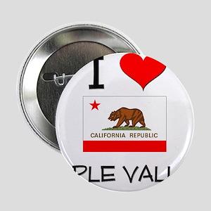 "I Love Apple Valley California 2.25"" Button"