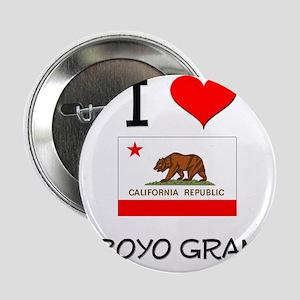 """I Love Arroyo Grande California 2.25"""" Button"""