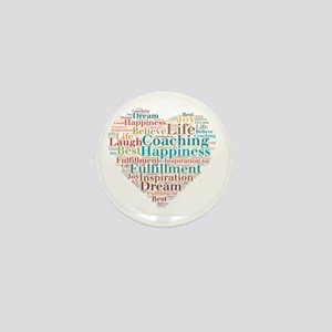 Coaching Wordart Mini Button