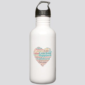 Coaching Wordart Water Bottle