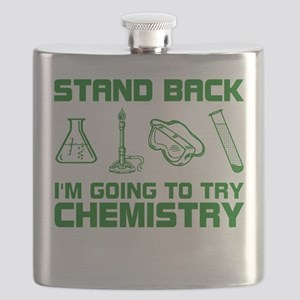 Stand Back Try Chemistry Flask