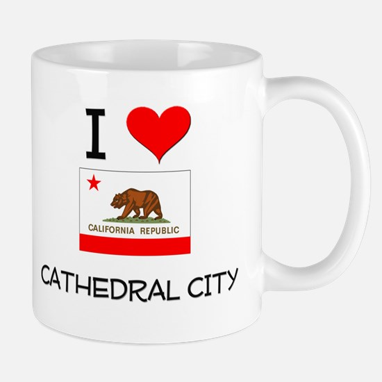 I Love Cathedral City California Mugs