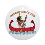 Daughters of Isis Nile Ornament (Round)