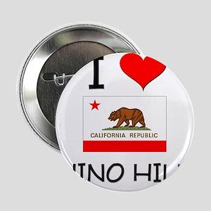 """I Love Chino Hills California 2.25"""" Button"""